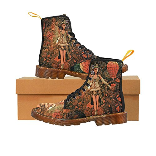 LEINTEREST Steampunk Martin Boots Fashion Shoes For Women ZPADDIBEIn