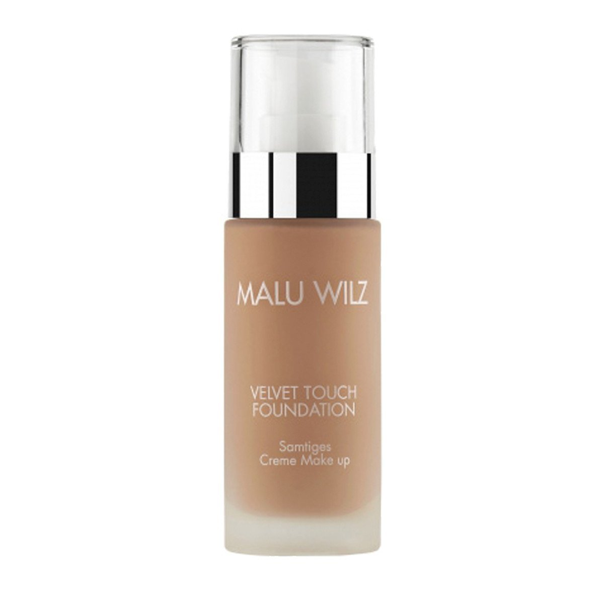 Malu Wilz Velvet Touch Foundation True Dark Sand 07 V-452.07