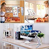 2 in 1 Wall Hanging Tablet Stand Kitchen Desktop