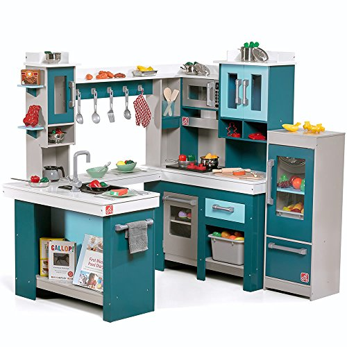 Step2 Grand Walk-in Wooden Play Kitchen (Playset Kitchen Deluxe)