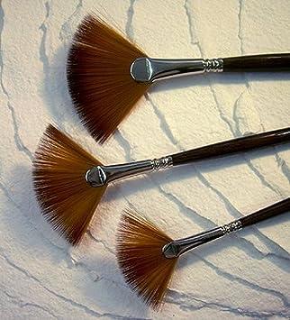 Escoda Acrylic /& Watercolor Brushes Fan #2