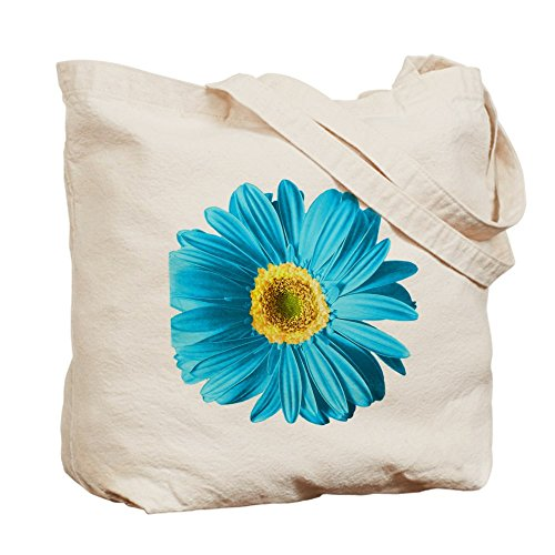 CafePress Pop Art Blu Daisy tote bag – Standard Multi-color