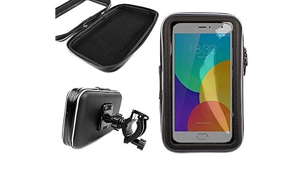 DURAGADGET Montaje/Funda Giratoria De Bicicleta para Meizu MX5 / M2 Note / MX4 Pro / M1 Note / MX4 (Ubuntu): Amazon.es: Electrónica