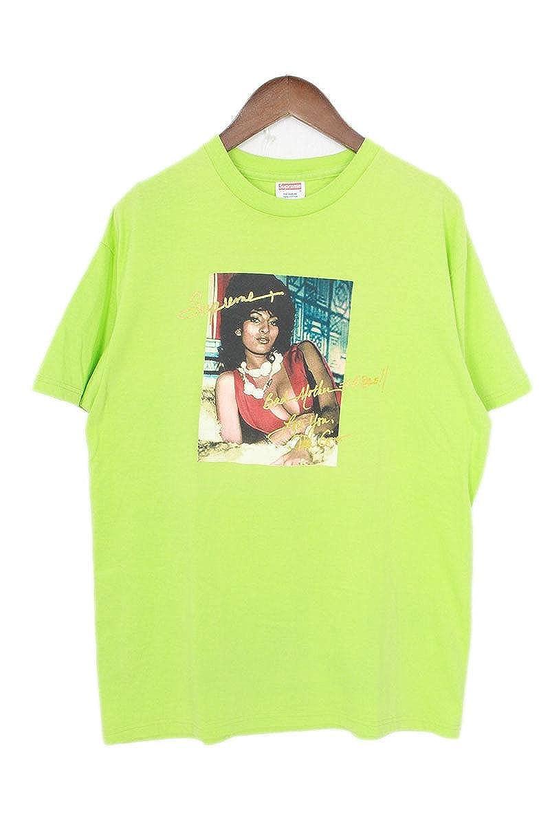 (シュプリーム) SUPREME 【12SS】【 Pam Grier Tee】フォトプリントTシャツ(L/グリーン調) 中古 B07FBBKBD6  -
