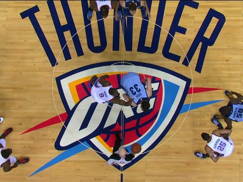 Memphis Grizzlies at Oklahoma City Thunder, Game 5