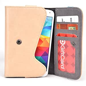 5 Inch Phone Wallet Case with Belt Loop and Credit Card Slots fits T-Mobile G2x