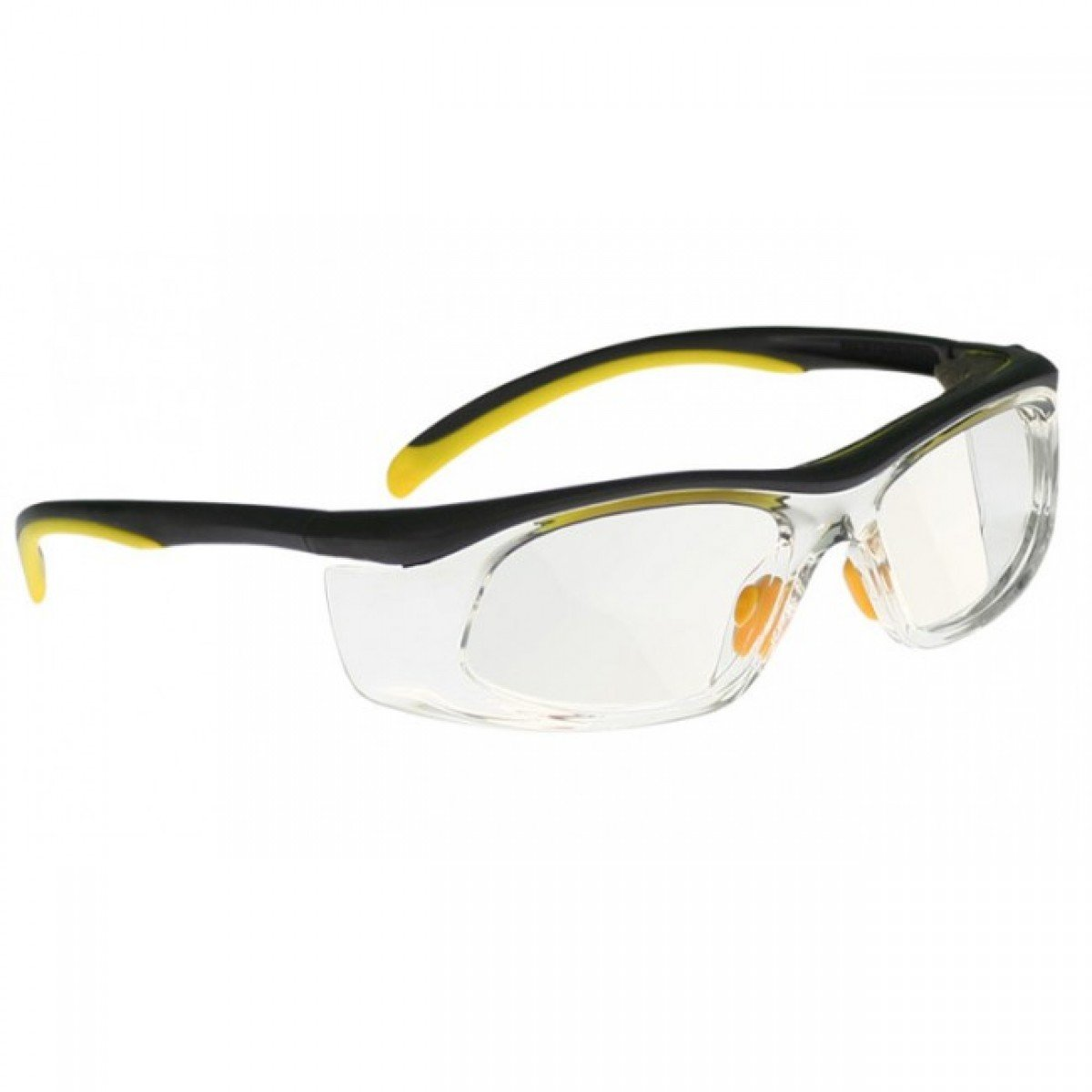 Safety Reading Glasses (+1.25) Full Lens Readers In Plastic Safety Frame