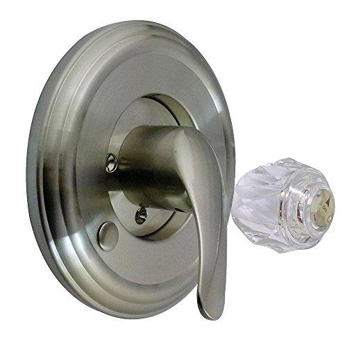 UPC 663370320385, Kingston Brass KT698DT Made to Match Tub and Shower Trim Kit, Satin Nickel