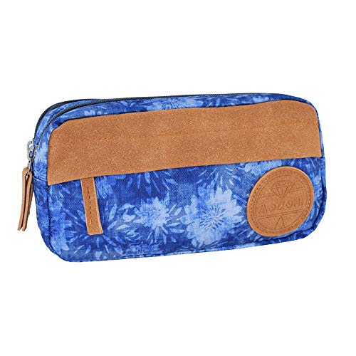 MOZIONI Triple Pencil Case, Indigo Collection, Limited Edition.