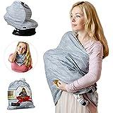 Nursing Breastfeeding Cover Scarf - Baby Car Seat Canopy...