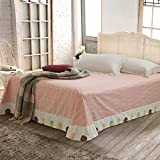 cotton printing bedspreads/Fresh European style single and more sheets-L 230x245cm(91x96inch)