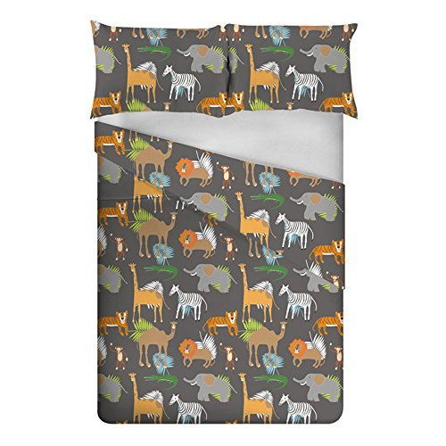 Ready Steady Bed Africa Design Children's Double Size Duvet Cover Set