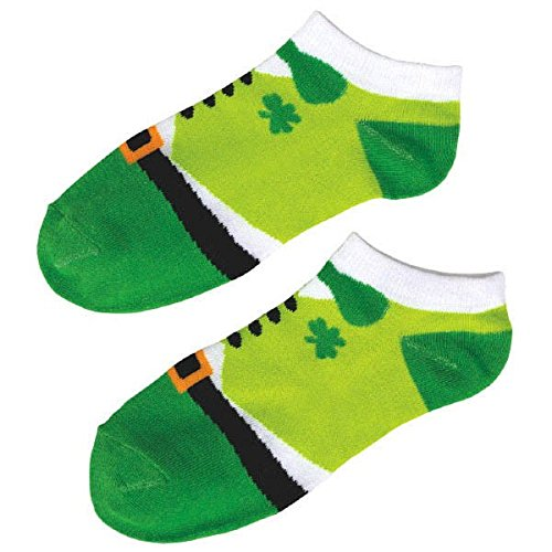 Amscan Lucky Irish Green St. Patrick's Day Leprechaun Ankle
