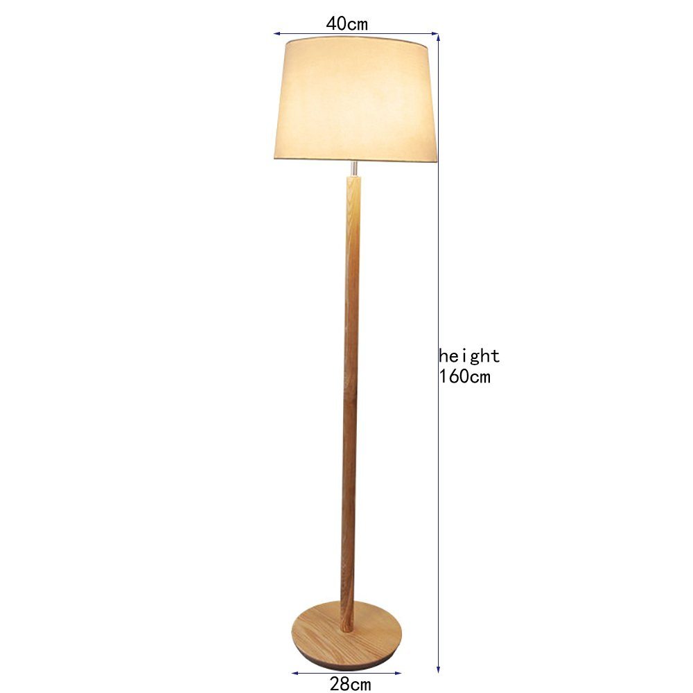 Floor lamp TOYM UK Lámpara de pie de Madera nórdica Japonesa ...