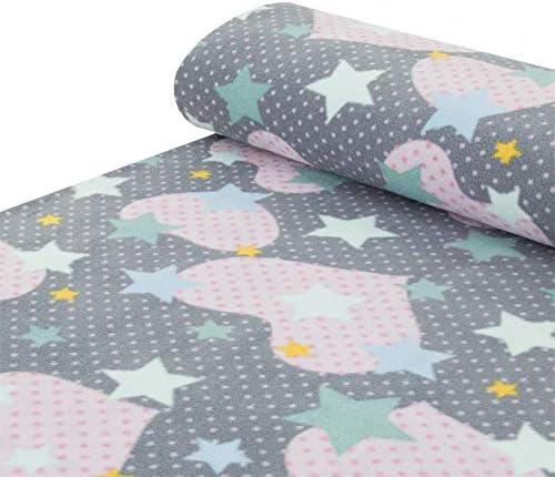 Confeccionada en tejido polar de punto con diseño de estrella y ...