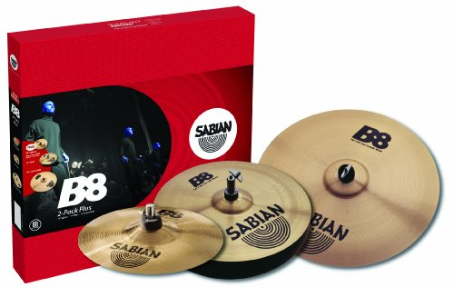 Sabian B8 2 Pack Plus (Pack Crash Sabian B8)