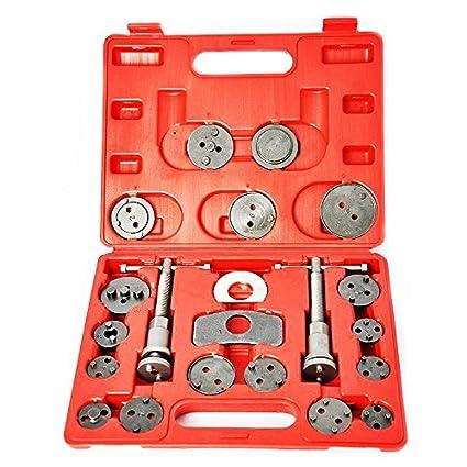 SUPERTOOLS Disc Brake Caliper Piston Wind Back Tool Kit TP1112 Set Of 21PCS
