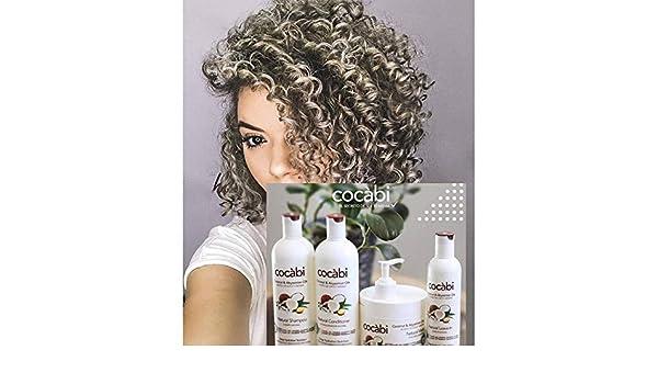 Amazon.com : Cocábi Hair Care, Línea completa para pelo Natural y Rizo 16 Oz, Hidratación Profunda, Nutrición y Suavidad, a base de coco, Set de 4 pasos : ...