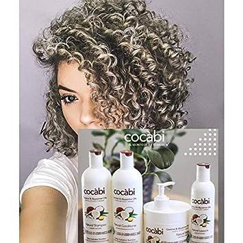 Cocábi Hair Care, Línea completa para pelo Natural y Rizo 16 Oz, Hidratación Profunda