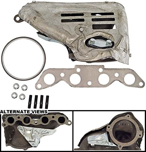 (APDTY 785667 Exhaust Manifold & Heat Shield Kit (W/California Emissions) Fits 1993-1995 Geo Prizm Or Toyota Corolla & 1994-1995 Toyota Celica 1.8L Engine (Replaces 17141-16290, 94853663, 1714116290))