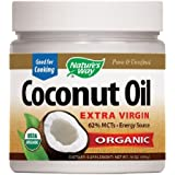 Nature's Way EfaGold Coconut Oil, Pure Extra Virgin 16 oz
