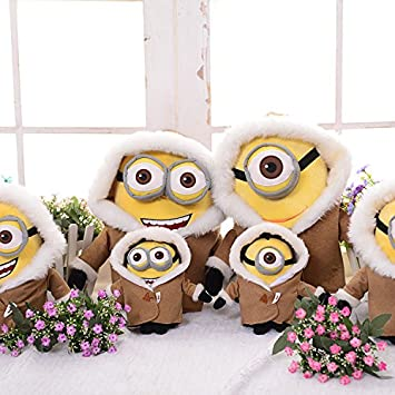 Minions 3 40CM 3D Minions Despicable ME 3 Big Movie Plush Toy 16 Inch Peluche Minions
