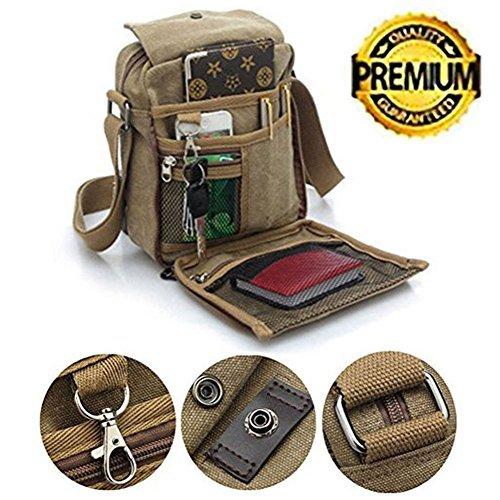 Bolso de bandolera de lona pequeña, casual, bolso de viaje, bolso de mano, bolso de mano, bolso de mano, bolso de bandolera,...