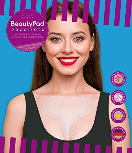 BeautyPad Décolleté Antifalten-Pad, glättet Dekolleté- und Schlaffalten, schnelle Wirkung, ca. 30 x wiederverwendbar. Das Original seit 2012!