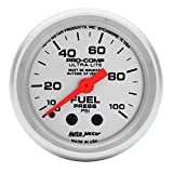 Auto Meter 4312 Ultra-Lite Mechanical Fuel Pressure Gauge