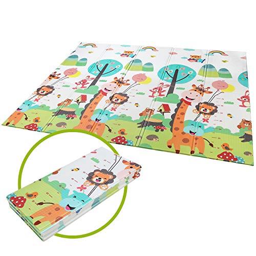 Bamny Speelmat/speel kleed Vloerkleed kinderen Groot Baby & Kindervoerkleed Dieren Kleed Jongens & Meisjes speelkleed…