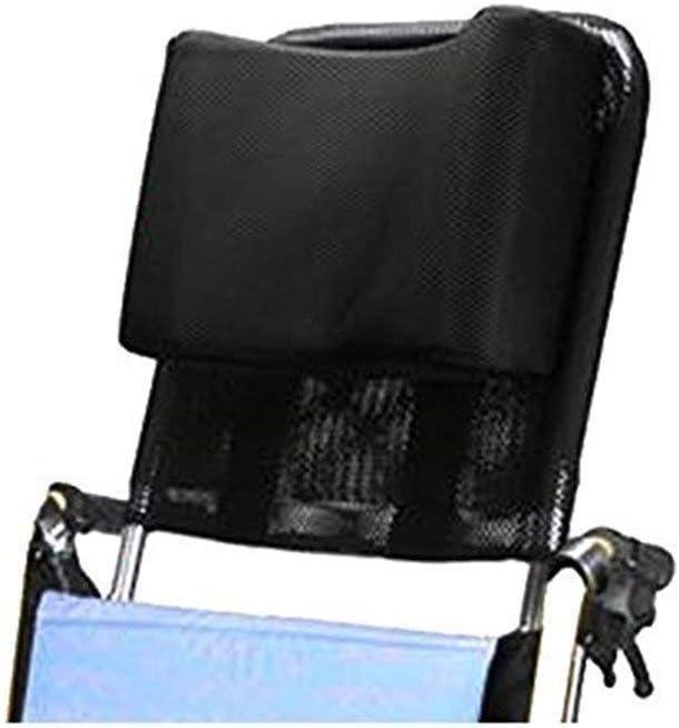 Apoyacabeza para silla de ruedas Soporte para el cuello Asiento cómodo Respaldo Cojín, Acolchado ajustable para adultos Accesorios de sillas de ruedas universales portátiles, 16