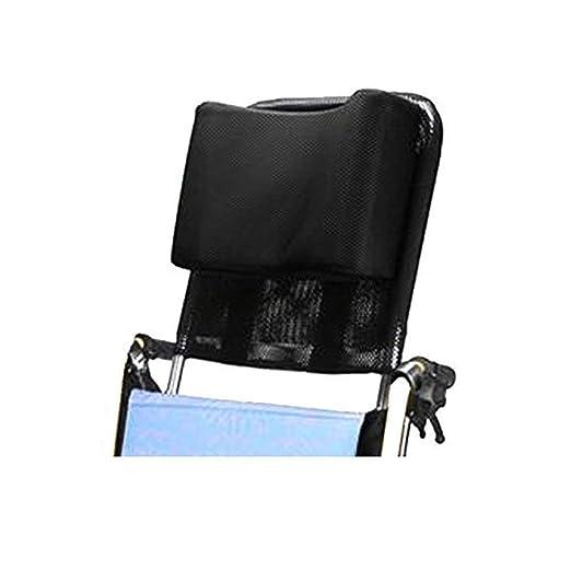 Apoyacabeza para silla de ruedas Soporte para el cuello Asiento cómodo Respaldo Cojín, Acolchado ajustable para adultos Accesorios de sillas de ruedas ...