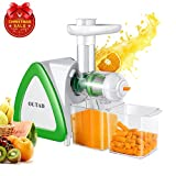 OUTAD 150W Low Speed Masticating Juicer Extractor, Cold Press Juicer, Lowest Noise, with Cleaning Brush, Bigger Container, High Nutrient Juice Reducing Oxidation Review