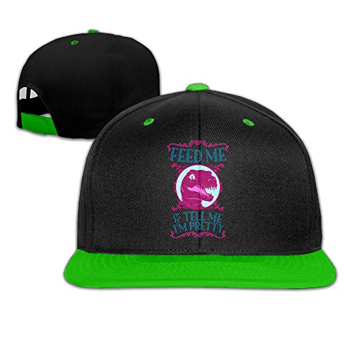 DH&GF Feed Me And Tell Me I'm Pretty Hip-hop Dad Cap Cool Snapback Hats - Me Feed Snapback