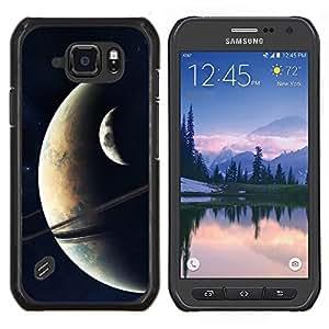 Be-Star Único Patrón Plástico Duro Fundas Cover Cubre Hard Case Cover Para Samsung Galaxy S6 active / SM-G890 (NOT S6) ( Galassia Stelle 19 )