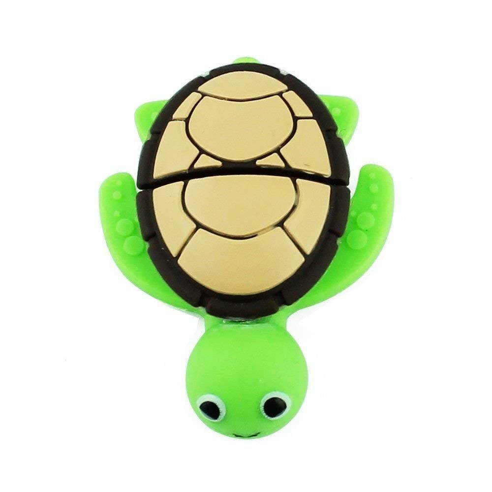 Novelty Tortoise Shape Design 16GB USB 2.0 Flash Drive Cute Memory Stick Sea Turtle Thumb Drive Data Storage Pendrive Cartoon Jump Drive Gift (tortoise-16GB) by QICAIHU (Image #3)
