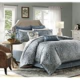 Harbor House Belcourt 4-Piece Comforter Set, King, Multi-Color