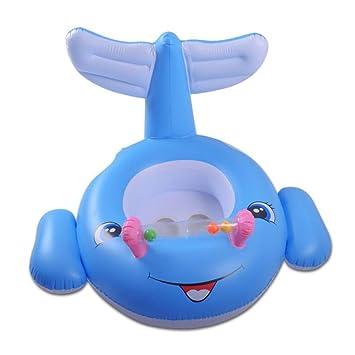 CDELEC 1 UNID Niños Inflable Bebé Niño Piscina de Piscina Flotador de Natación de la Tortuga de Ballenas Anillo: Amazon.es: Juguetes y juegos