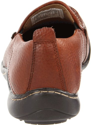 Hush Puppies Mens Gt Slip-on Loafer Röd Brunt Läder
