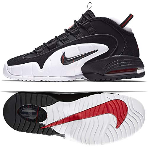 - Nike Men's Air Max Penny Basketball Fashion Shoes Black 685153-003 (11, Black/Black-White)