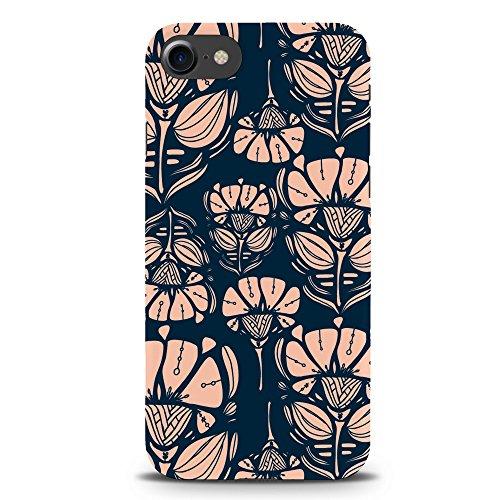 Koveru Back Cover Case for Apple iPhone 7 - Flowers in dark
