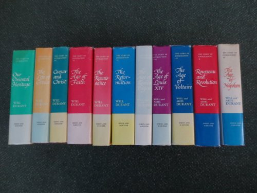 The Story of Civilization; 11 Volume Set