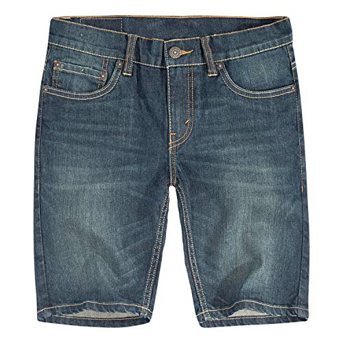 Levi's Boys' Big 502 Regular Fit Denim Shorts, Fremont, 16 (Boys Jean Shorts Size 16)