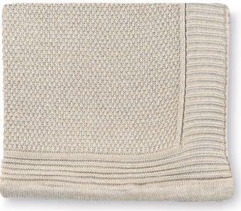 Pirulos 28011613 - Toquilla tricot texturas, 80 x 110 cm, color lino: Amazon.es: Bebé