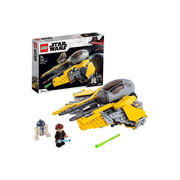 LEGO75281StarWarsAnakin'sJediInterceptorToywithR2-D2