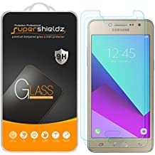 """[2-Pack] Supershieldz for Samsung """"Galaxy J2 Prime"""" Tempered Glass Screen Protector, Anti-Scratch, Anti-Fingerprint, Bubble Free, Lifetime Replacement Warranty"""