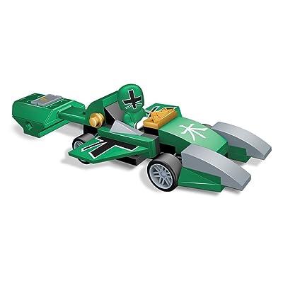 Mega Bloks Power Rangers Samurai Green Pocket Racer: Toys & Games