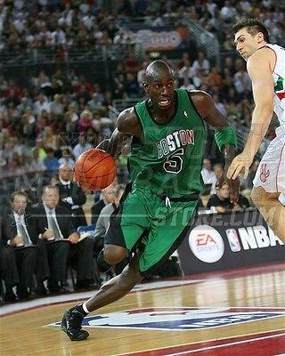 Kevin Garnett Boston Celtics italian jersey 5 8x10 11x14 16x20 photo 174 - Size 8x10