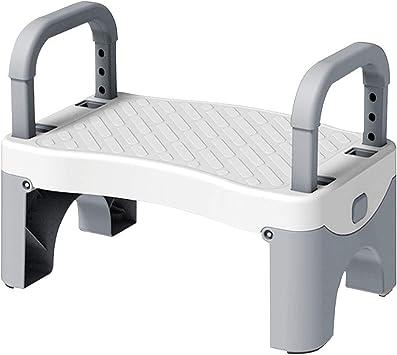 BESPORTBLE Folding Step Stool Foldable Step Stool for Kids Adult Small Fishing Stool Kitchen Garden Bathroom Stool Grey