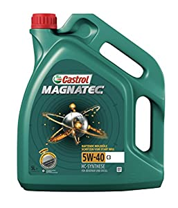 castrol magnatec engine oil 5w 40 c3 5l german label car motorbike. Black Bedroom Furniture Sets. Home Design Ideas